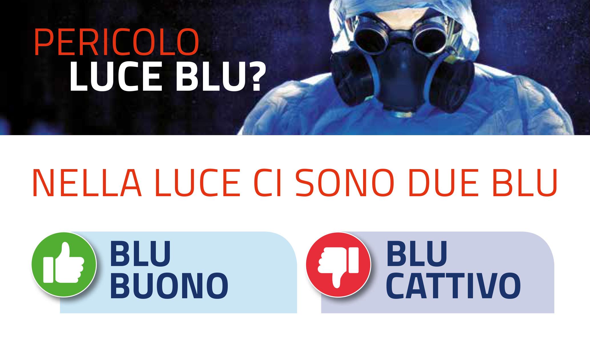 Il BLUE BUONO e il BLUE CATTIVO